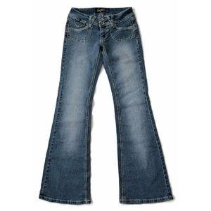 Angels Jeans Flare Pocketless Boho Bell Bottom